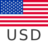 USD, $